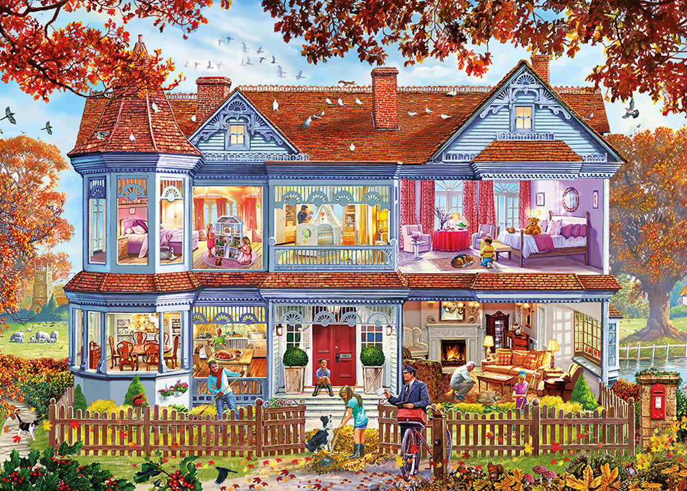 Autumn Home 1000 piece puzzle