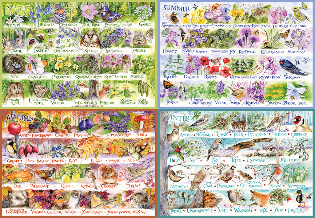 Woodland Seasons 2000 Jigsaw Puzzle