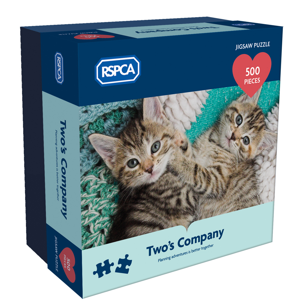 RSPCA - Two's Company 500 piece puzzle