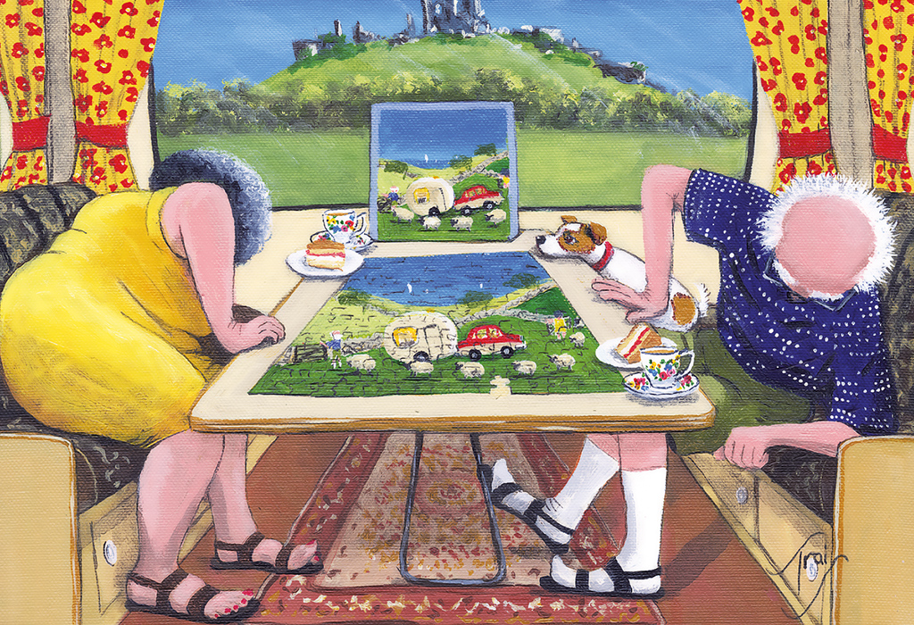The Missing Piece 500pc Jigsaw Puzzle