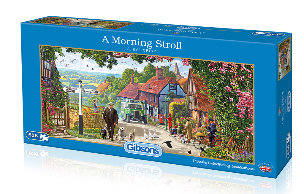 A Morning Stroll 636 Jigsaw Puzzle