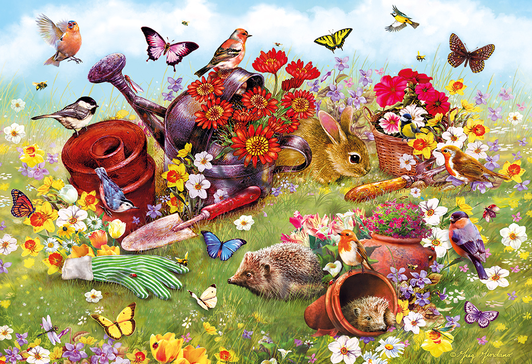 In the Garden 500pc Puzzle