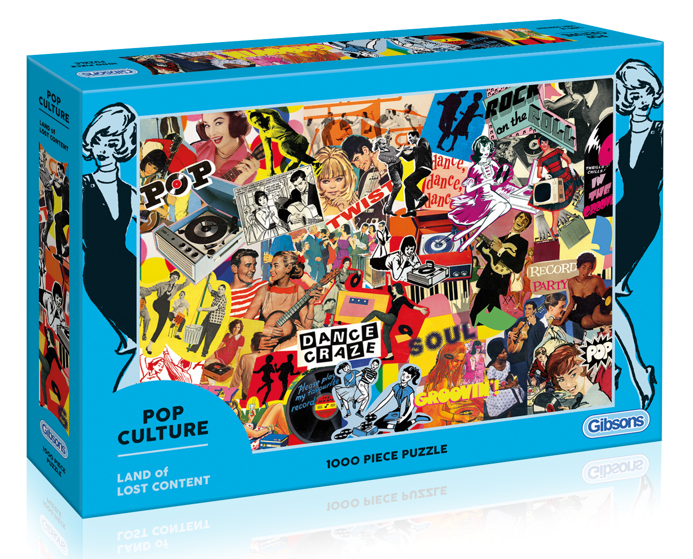 Pop Culture 1000pc Jigsaw Puzzle