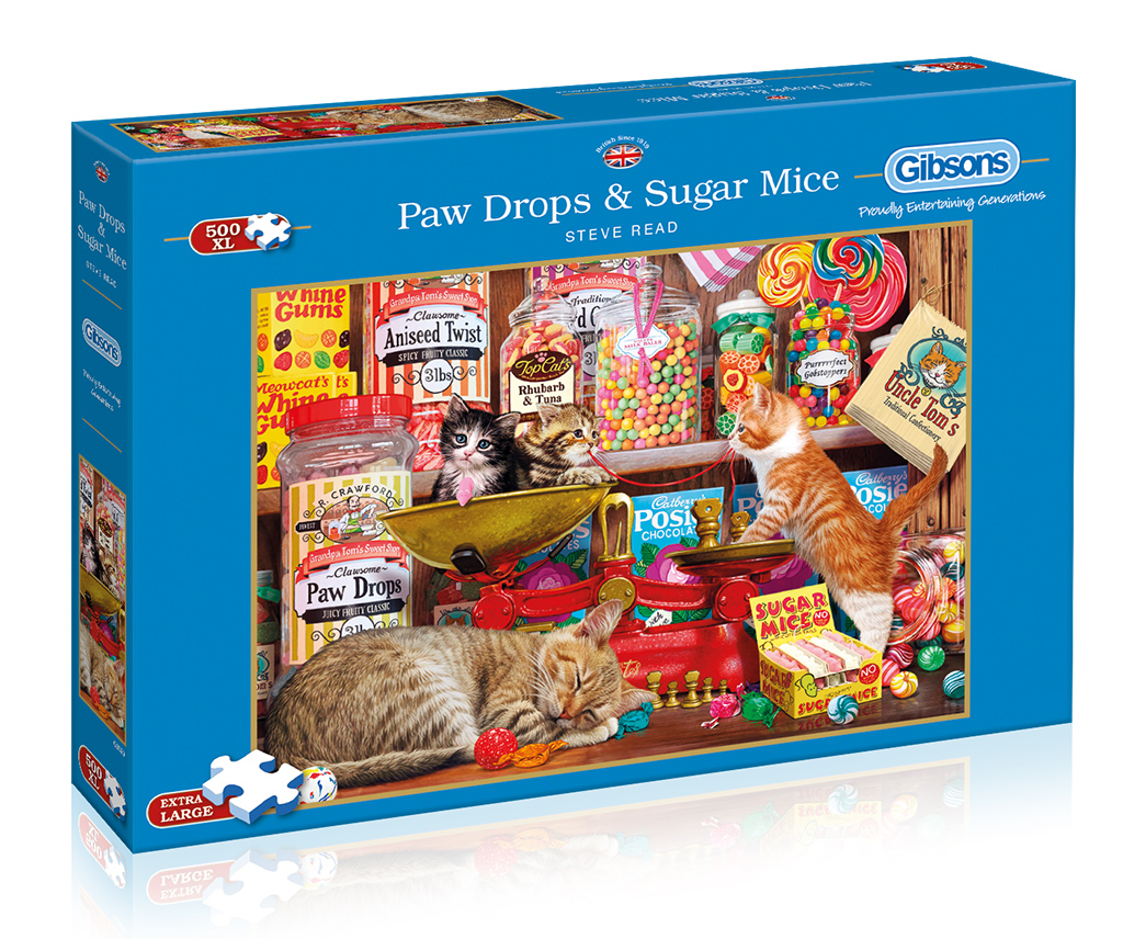 Paw Drops & Sugar Mice 500XL Jigsaw