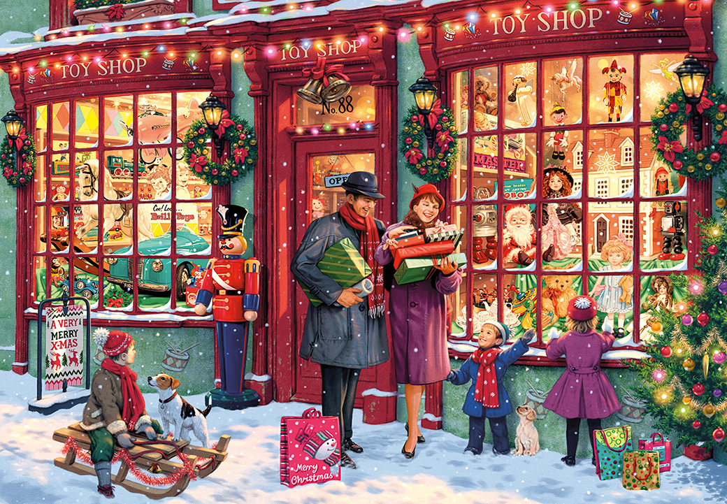 G8016 Christmas Toy Shop 2000