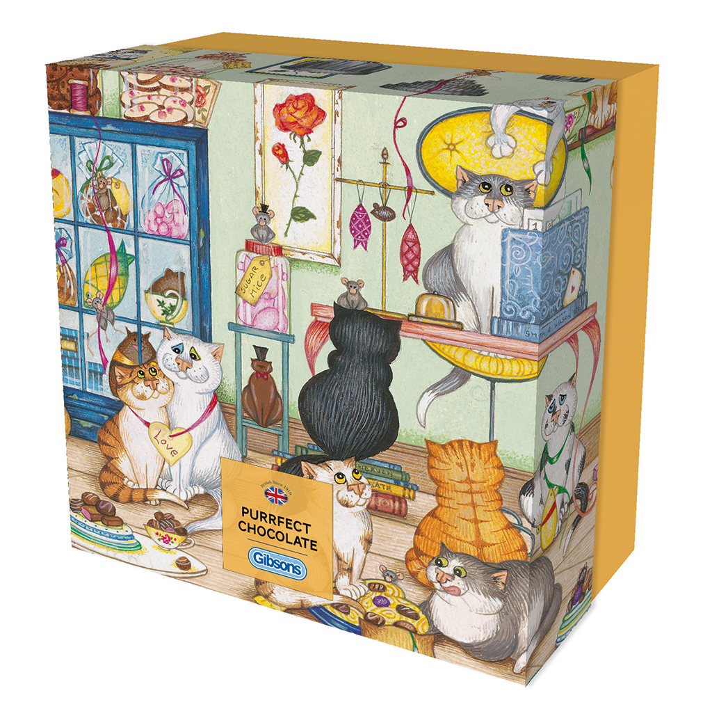 Purrfect Chocolate 500pc Jigsaw Puzzle