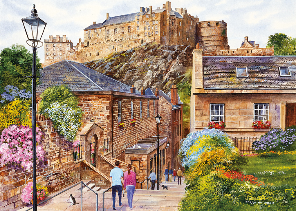 Edinburgh - The Vennel 1000pc puzzle