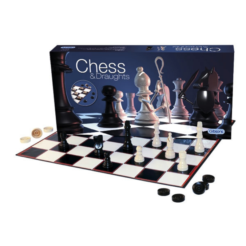 Chess & Draughts Starter Set