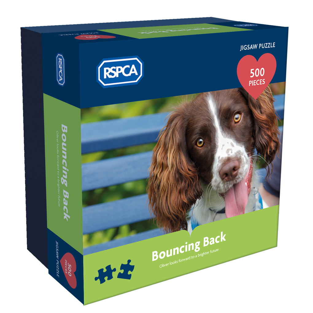 RSPCA - Bouncing Back 500 piece puzzle