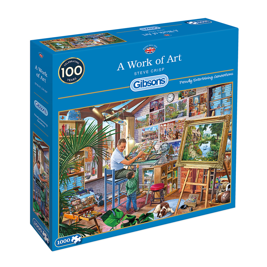 A Work of Art 1000pc Jigsaw Puzzle