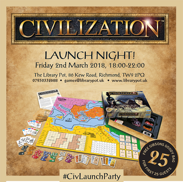 Civilization Launch Night Website Tile