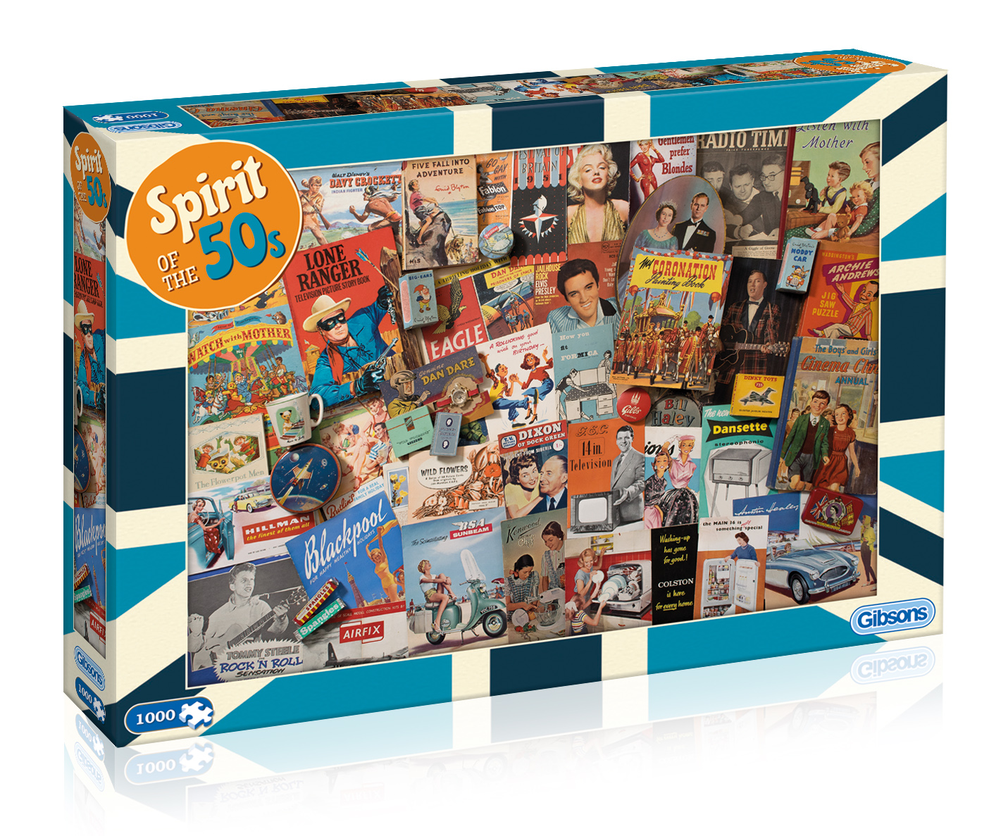 Spirit Of The 50s Jigsaw Puzzle