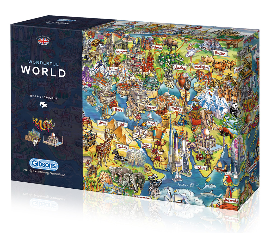 Wonderful World 1000pc Jigsaw Puzzle