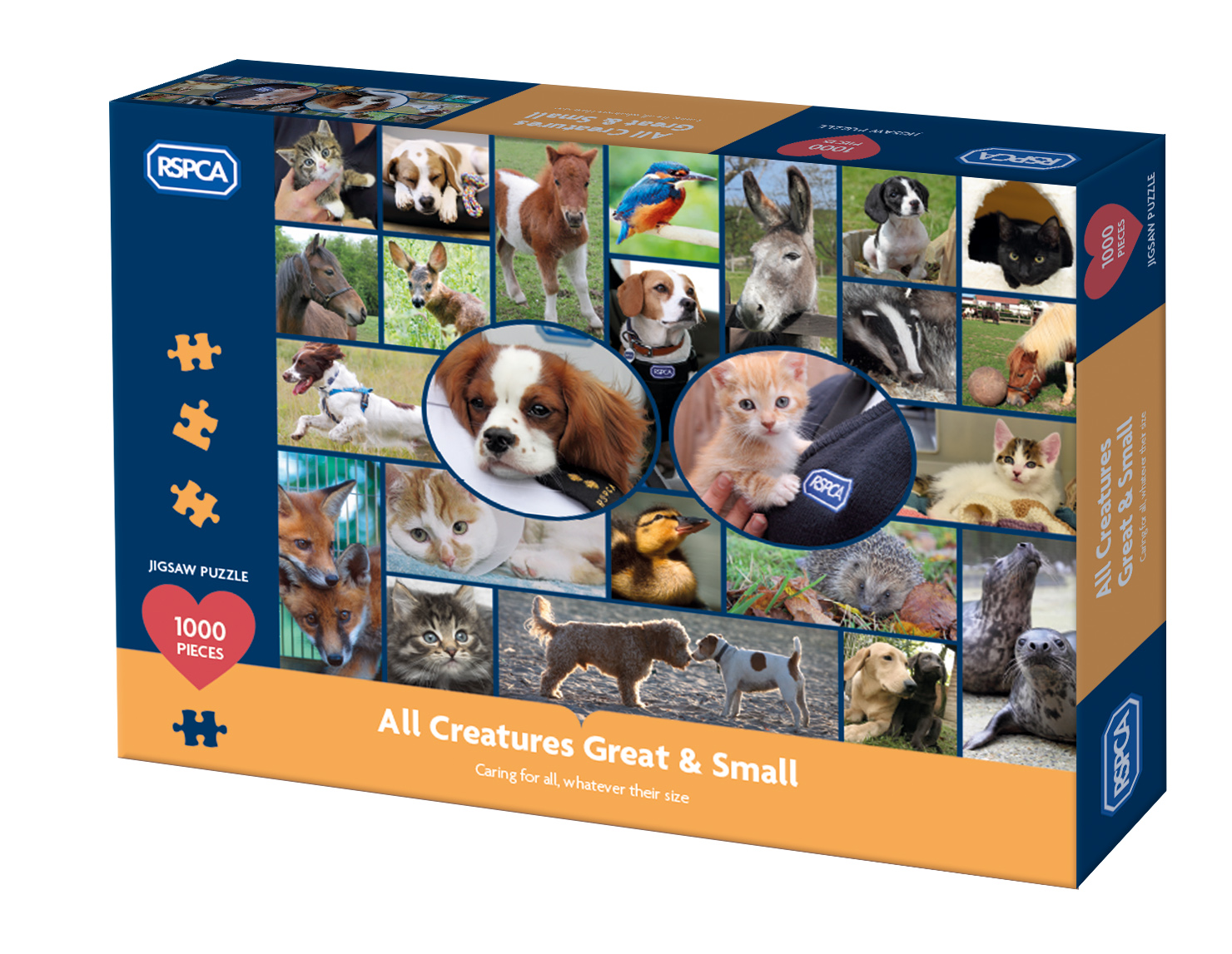 RSPCA All Creatures Great & Small puzzle