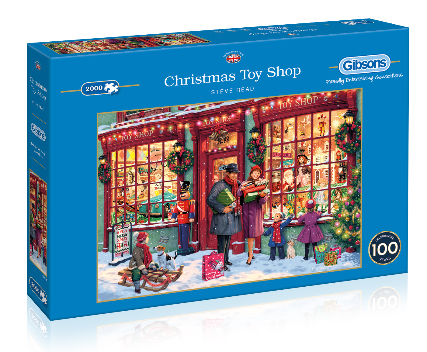 G8016 Christmas Toy Shop 2000pc box