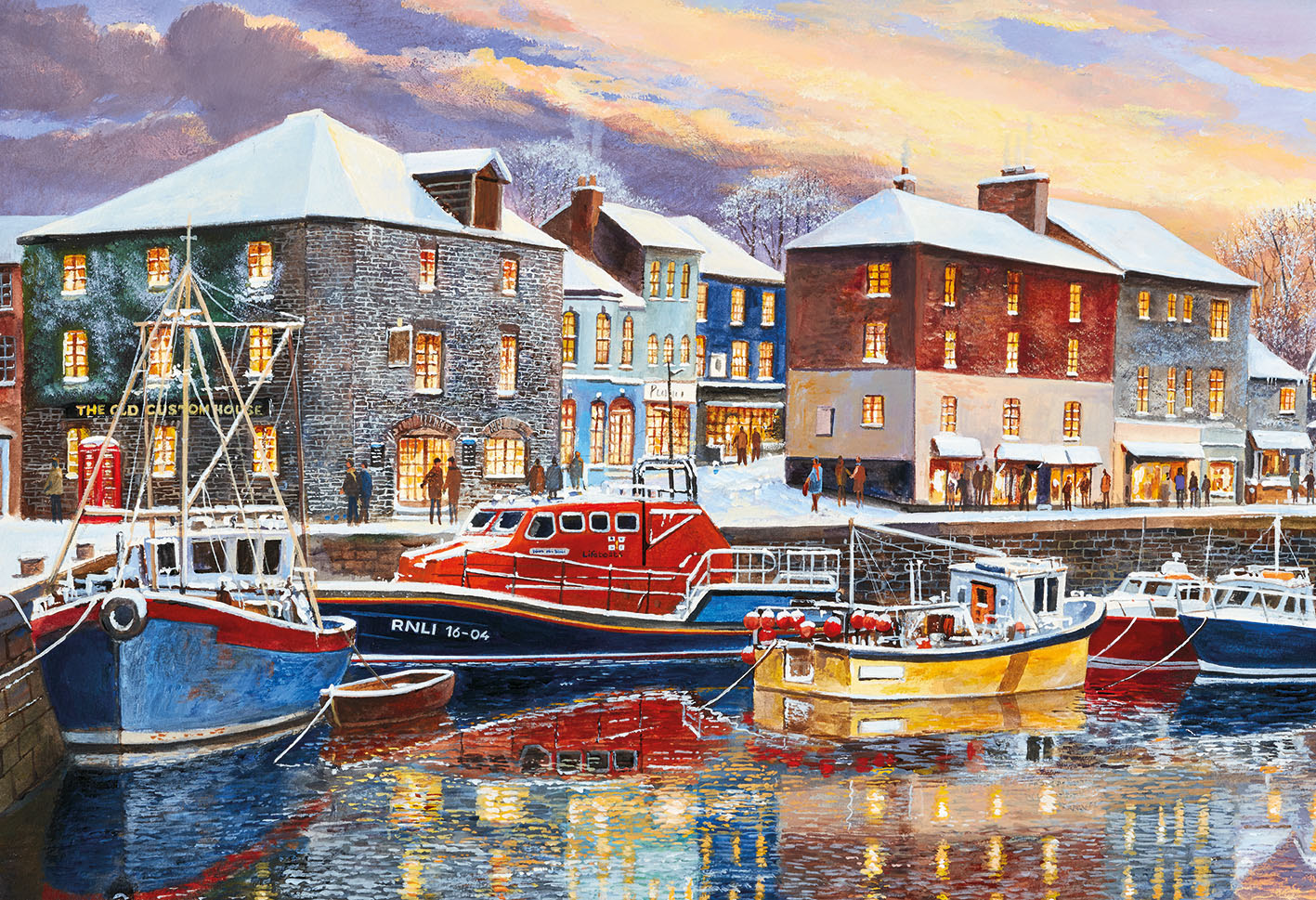 Padstow in Winter (250XL)