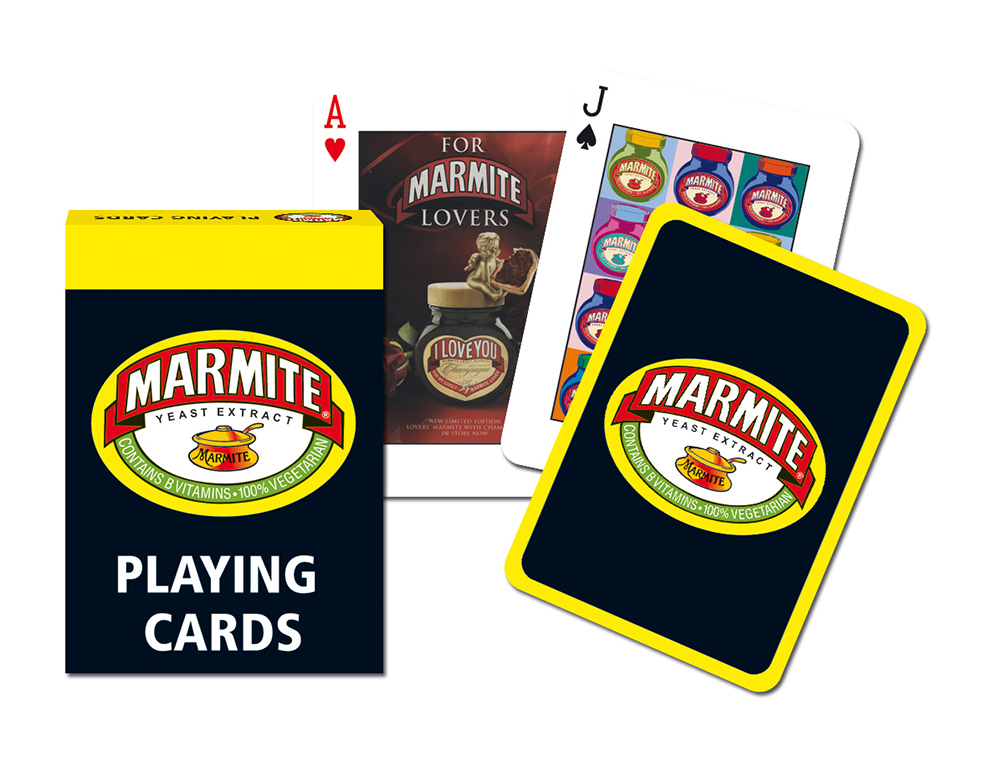 Marmite Playing Cards