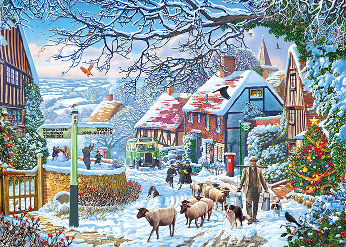 A Winter Stroll (1000 Piece)
