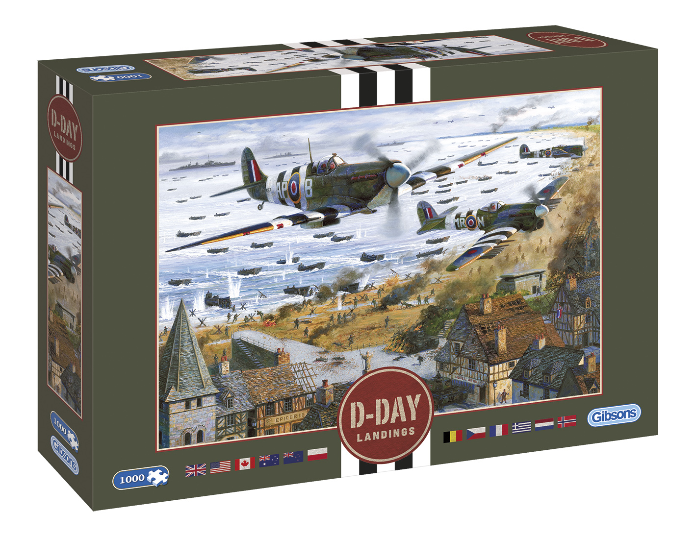 G7099 D-Day Landings box