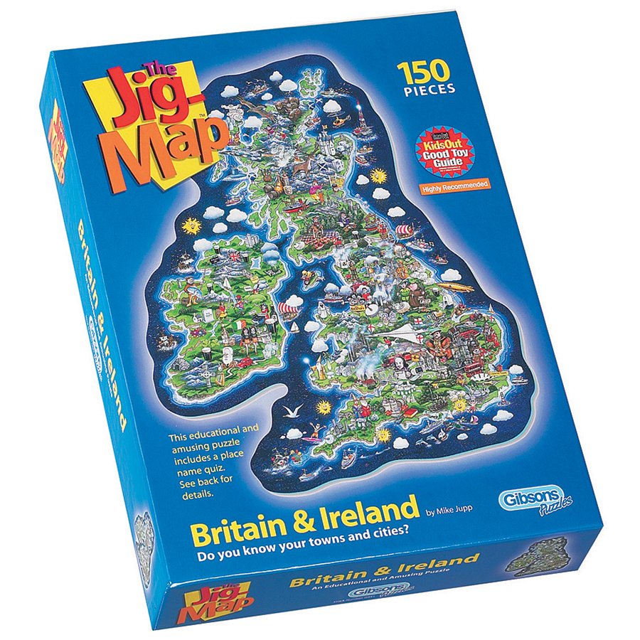 Jigmap Britain & Ireland