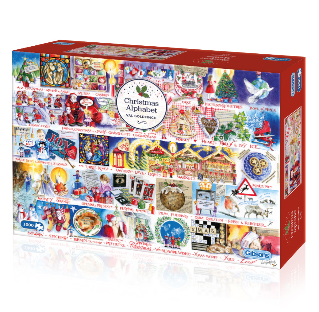 G7104 Christmas Alphabet 3D box