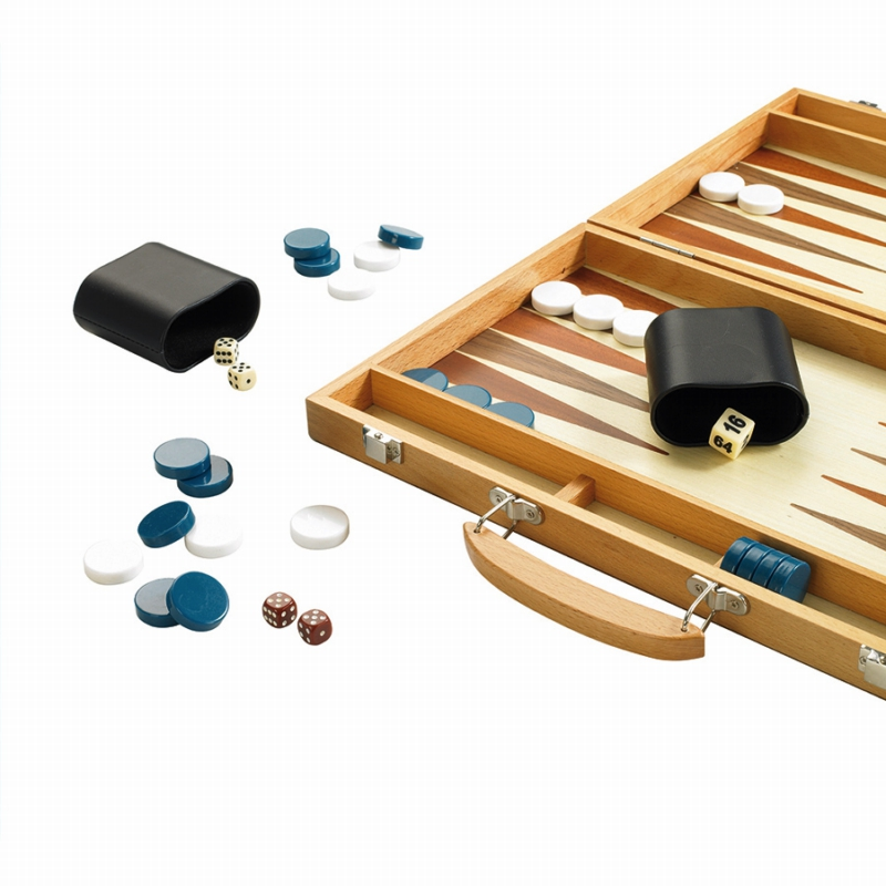 15″ Wooden Backgammon