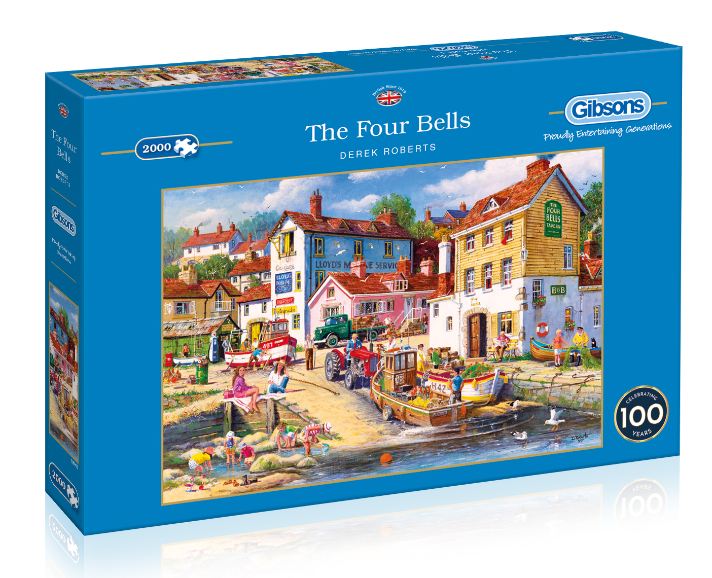 The Four Bells 2000pc Jigsaw Puzzle