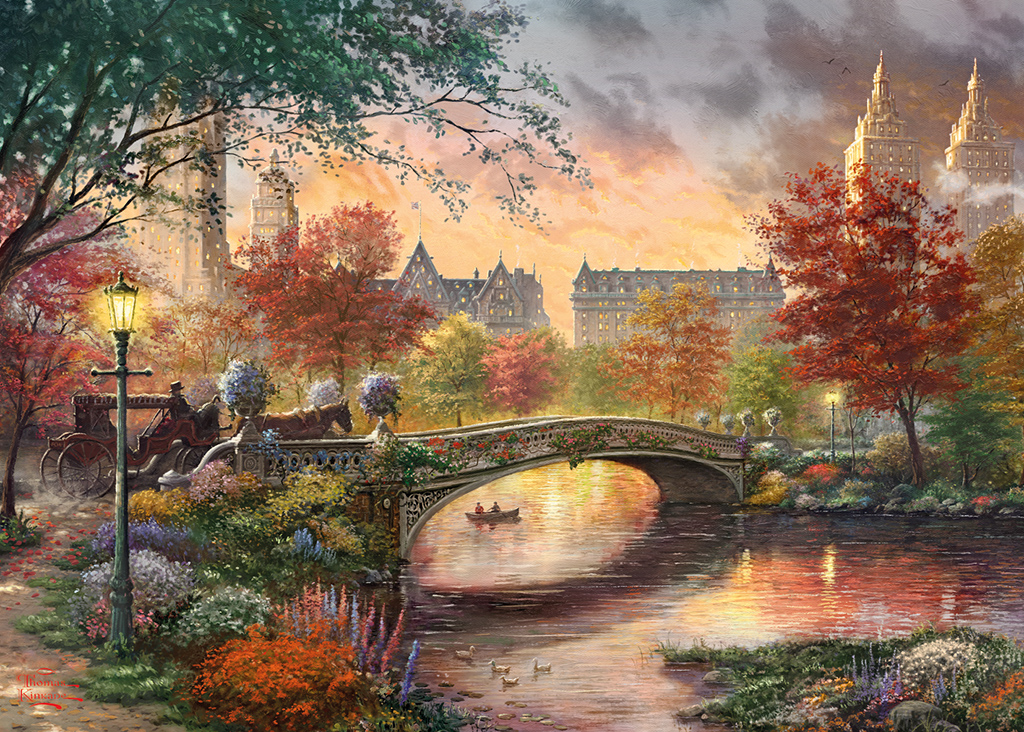Autumn in New York 1000 Jigsaw Puzzle