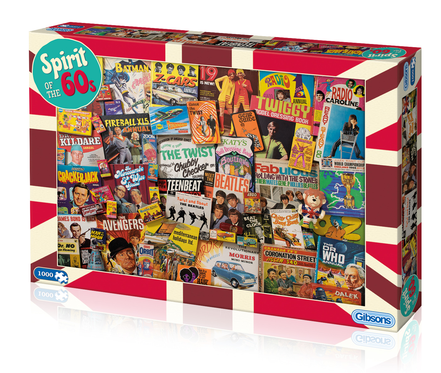 Spirit Of the 60s Jigsaw Puzzle