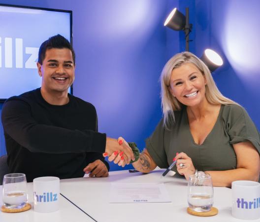 Kerry Katona acquires Thrillz stake in multimillion dollar deal
