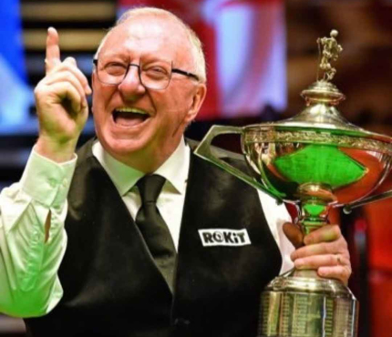 Dennis Taylor: World Champion and nation's sweetheart