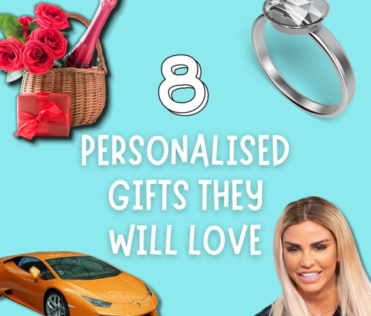What Makes the Perfect Gift? 8 Personalised Presents They Will LOVE!