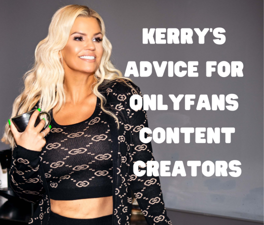 Kerry's advice for OnlyFans content creators after 'sexually explicit' ban