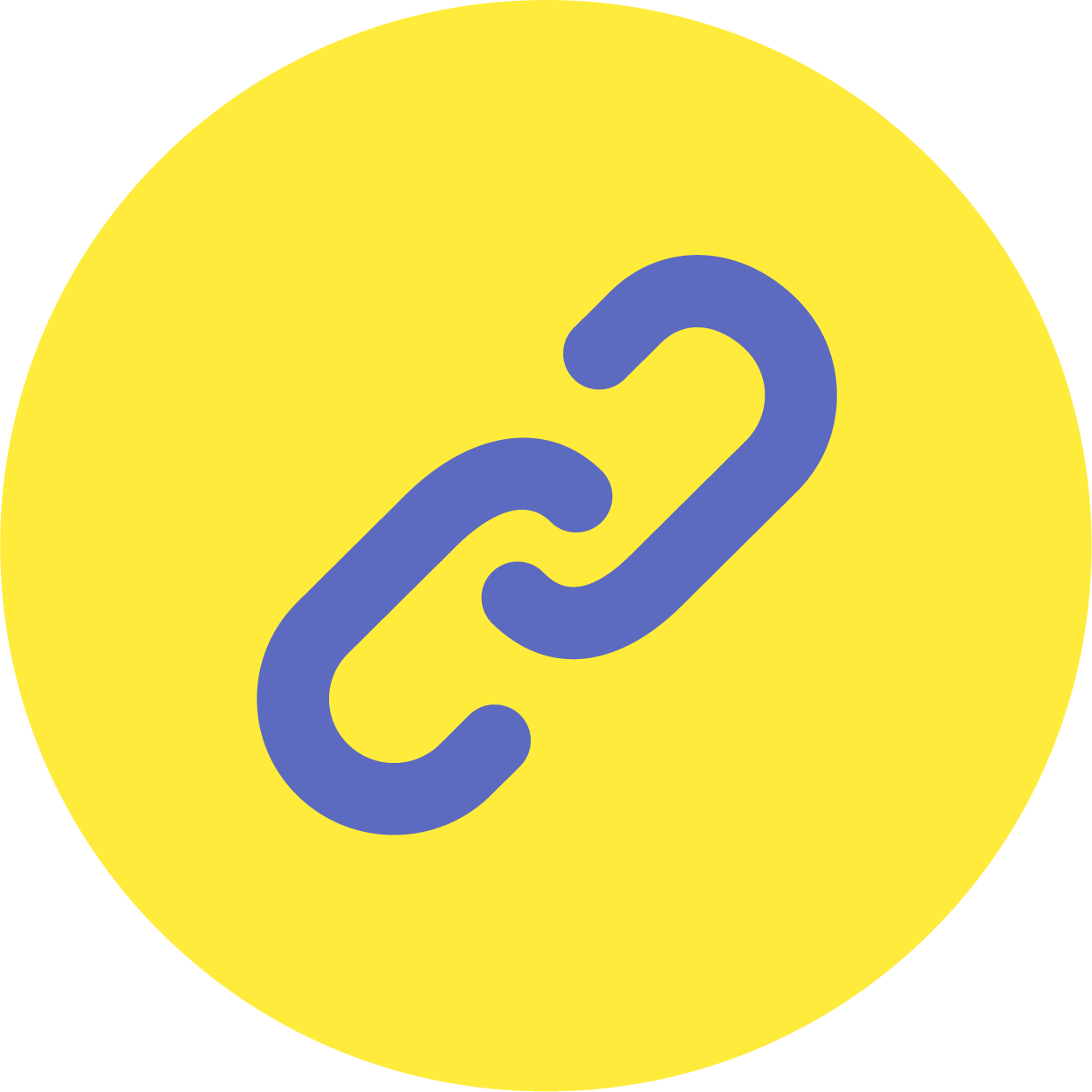 Rounded paperclip icon