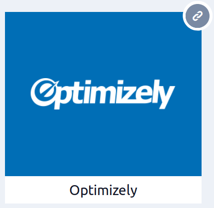 Optimizely tile