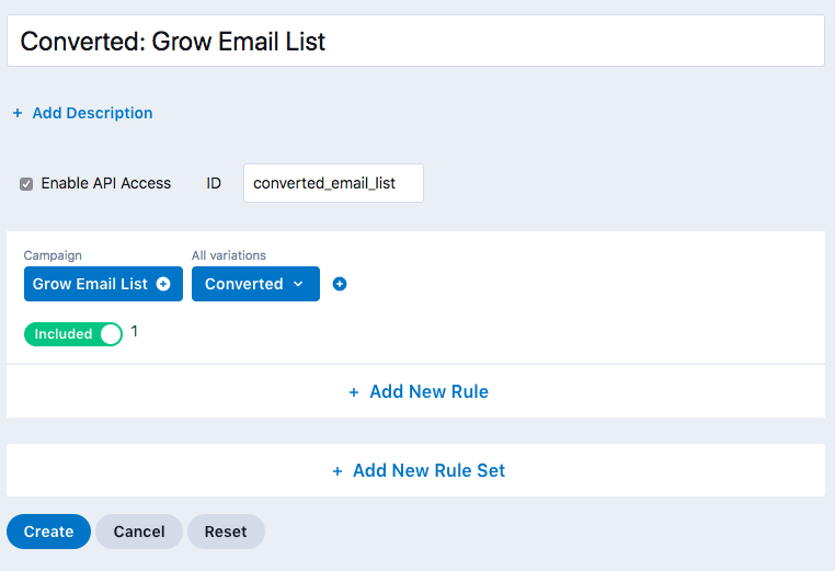 grow-email-audience-converted