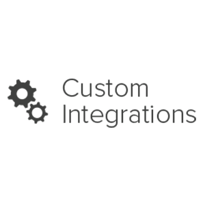 custom integrations logo