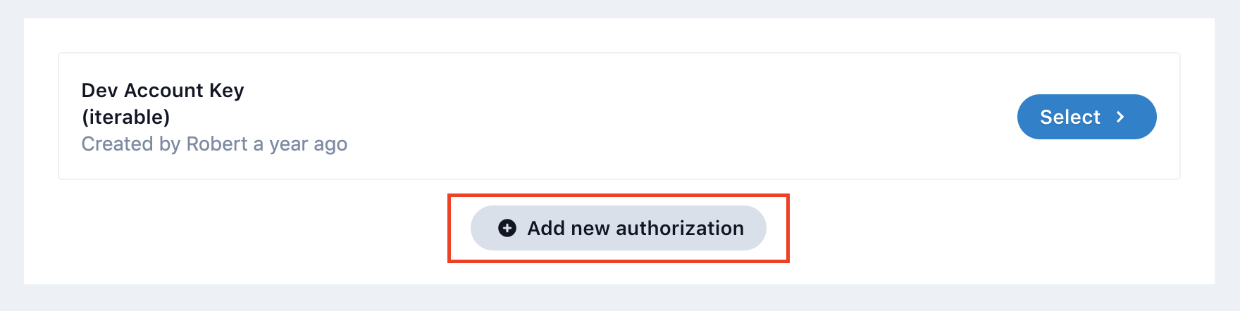 iterable integration new auth