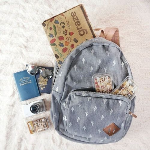 snacks bag backpack