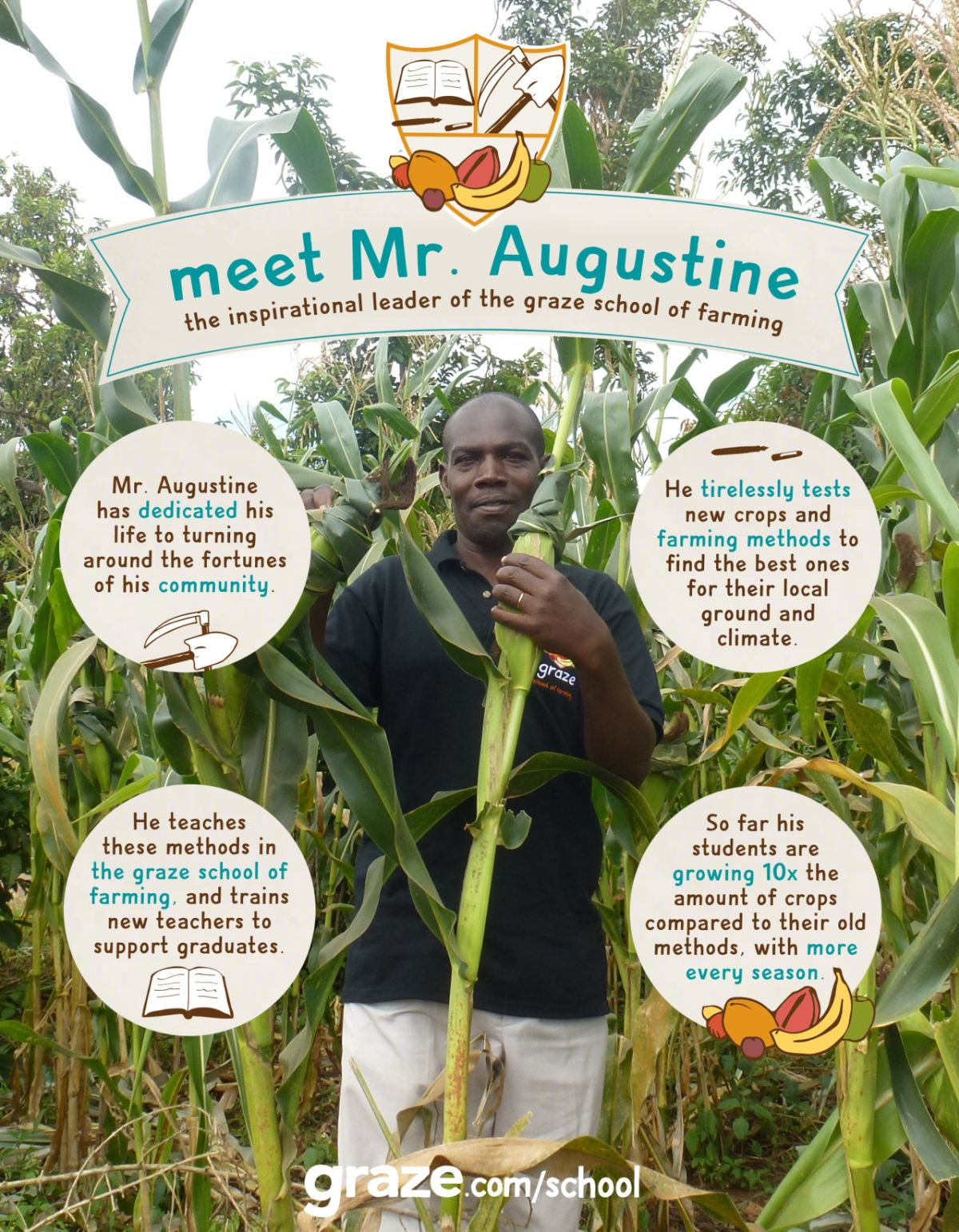 mr augustine infographic