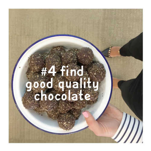 #4 find good quality chocolate