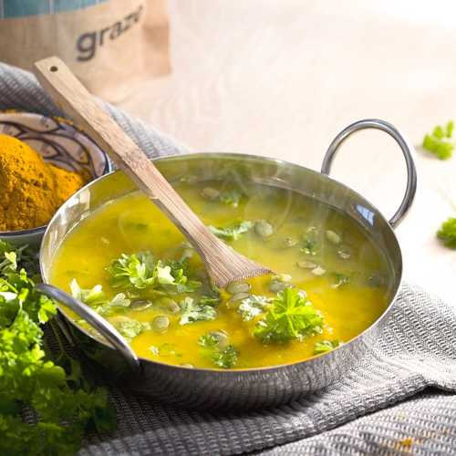 vegetarian turmeric broth