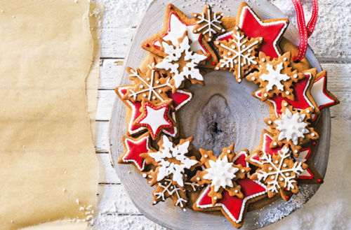 gingerbread wreath