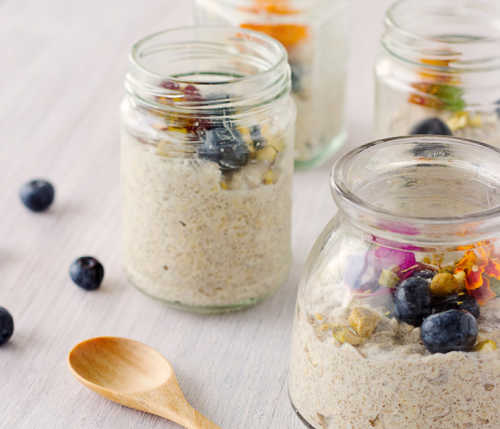 bircher muesli jar