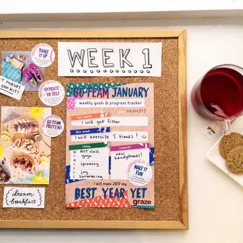 goal setting resolution snackspiration
