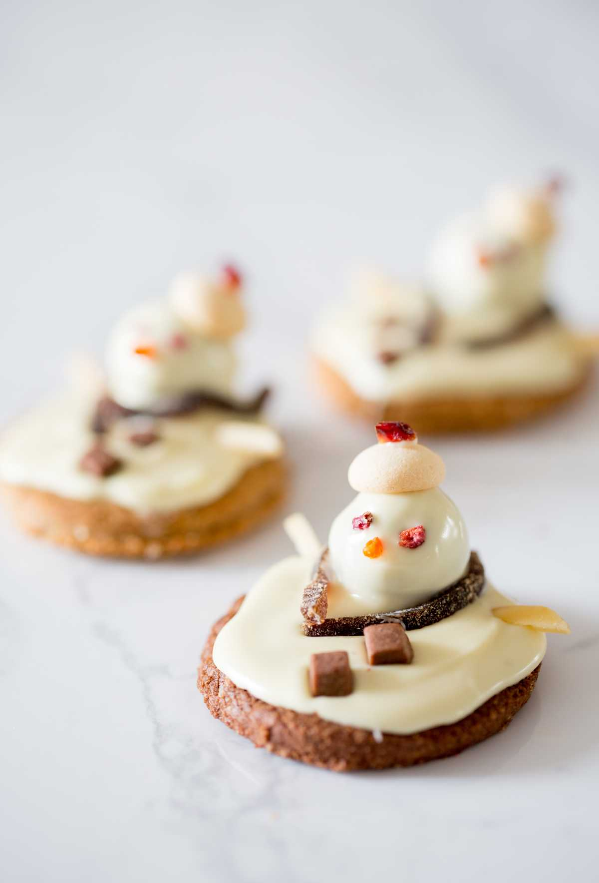 snowmen cookies profile