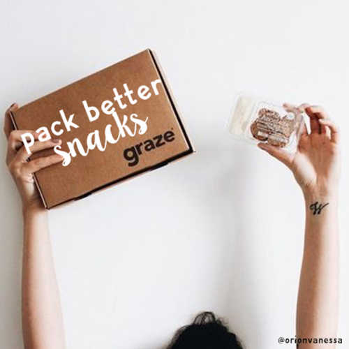pack better snacks