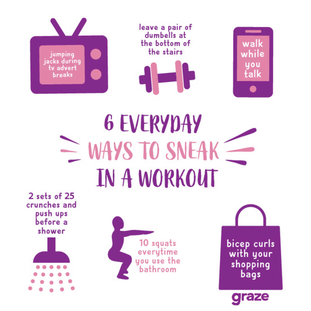 workout infographic