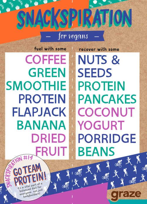 vegan workout snacks