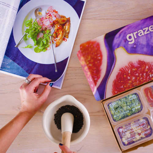 graze cooking square